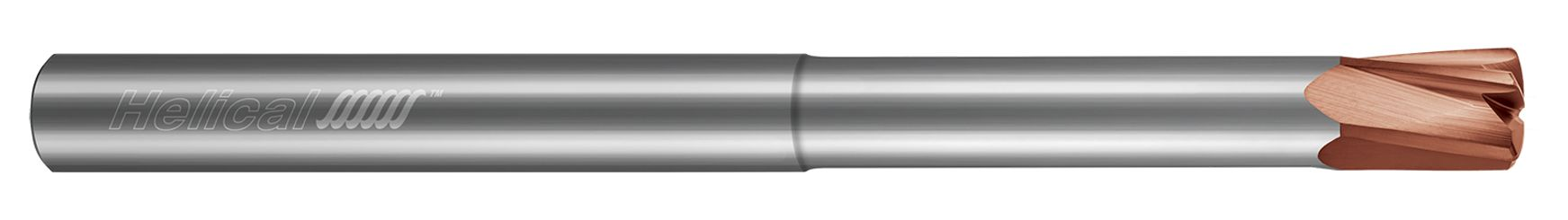 High Feed End Mills - Steels up to 45 Rc - Variable Pitch - Reduced Neck