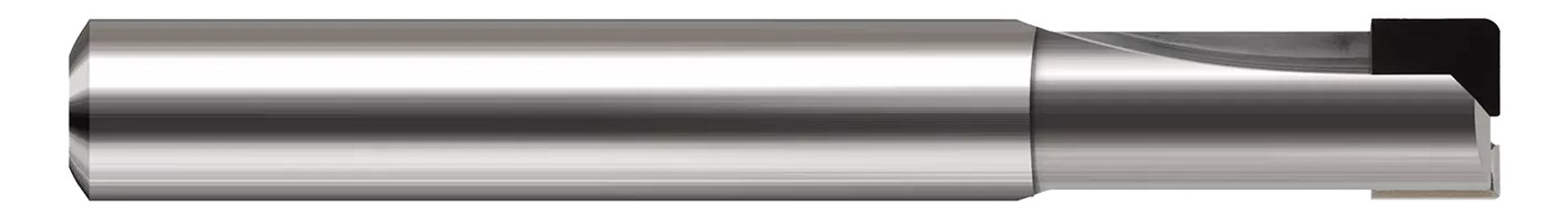Diamond End Mills for Non-Ferrous Materials - PCD Diamond - Corner Radius