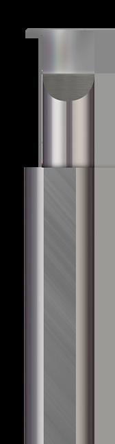 Standard - Grooving Tools - Retaining Ring - Corner Radius - Right Hand