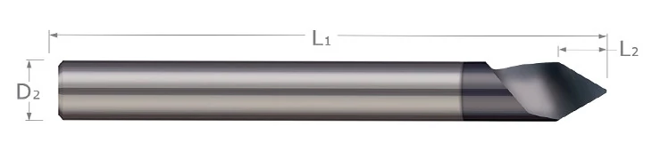 Engraving Cutters - Tipped Off - Helical Flute