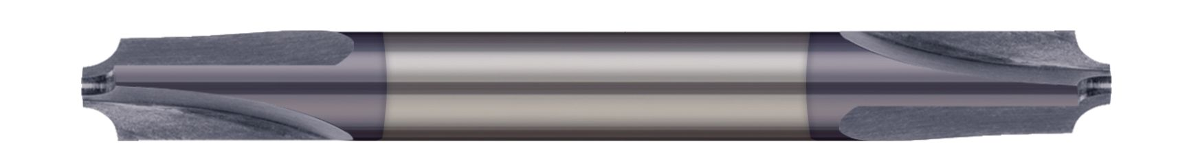 Corner Rounding End Mills - 3 Flute - Double-Ended
