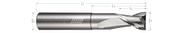 2 Flute, Square - High Balance, Reduced Neck