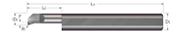 Standard - Boring Tools - Top Rake Chipbreaker