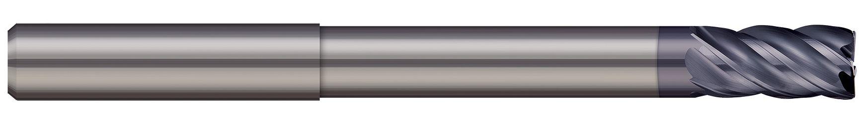 Corner Radius - 5 Flute - Variable Helix - Long Reach - Reduced Neck