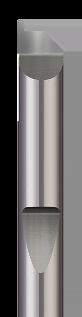 Quick Change - Grooving Tools - Face Grooving - Corner Radius