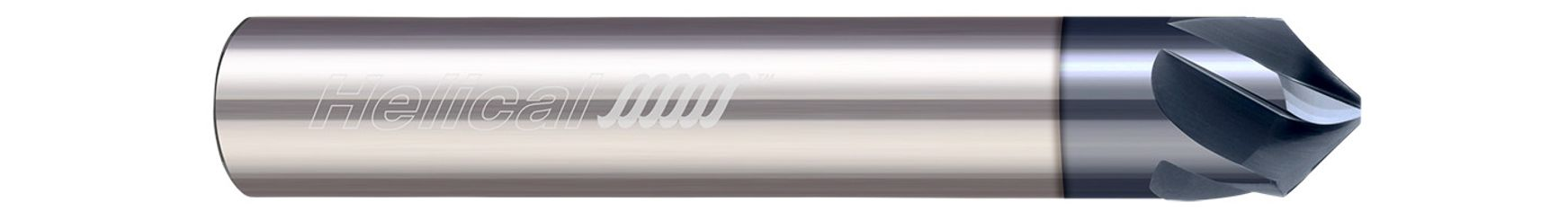 Specialty Profiles - Chamfer Mills - Helical Flute - 3 & 5 Flute - High Performance - Tipped Off