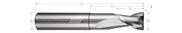 2 Flute, Corner Radius - High Balance, Reduced Neck
