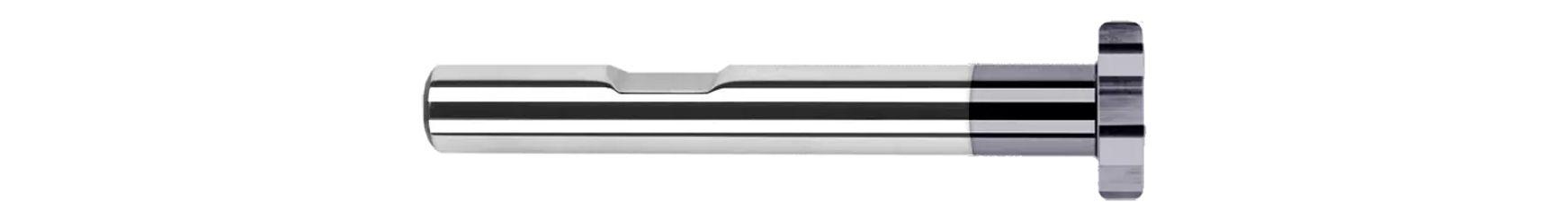 Keyseat Cutters - Corner Radius - Reduced Shank