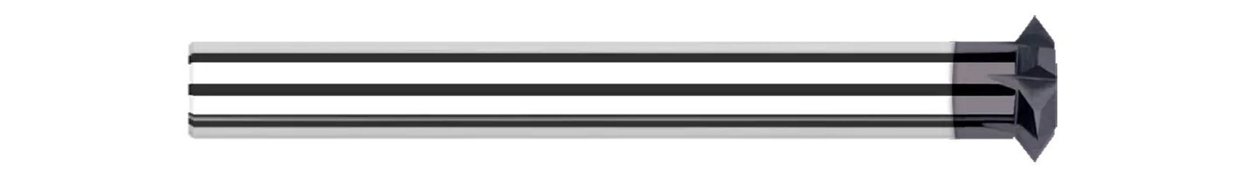 Double Angle Shank Cutters - Pointed - Reduced Shank