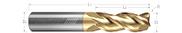 3 Flute, Corner Radius - 40° Helix, Variable Pitch