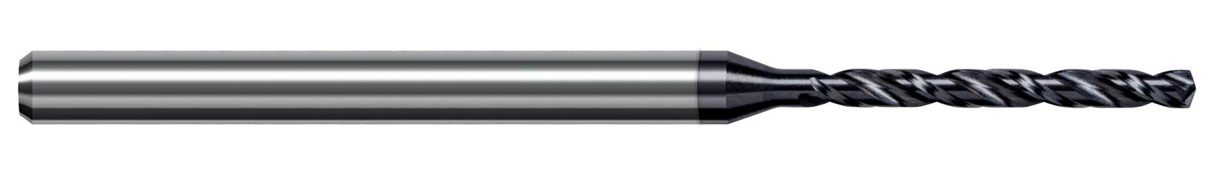 Miniature High Performance Drills - Hardened Steels