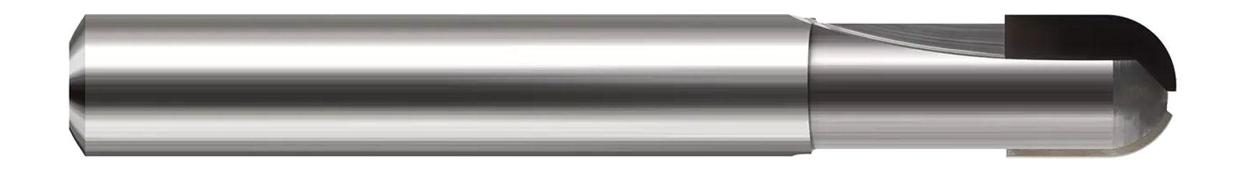 Diamond End Mills for Non-Ferrous Materials - PCD Diamond - Ball
