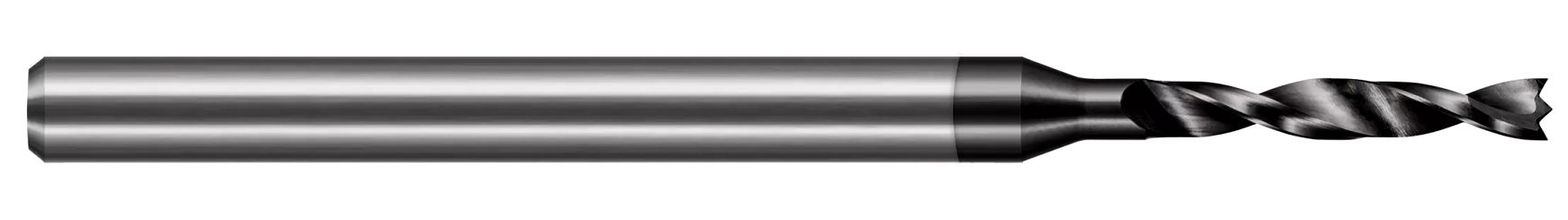 Miniature High Performance Drills - Composites - Brad Point