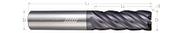 5 Flute, Corner Radius - Variable Pitch (Aplus)