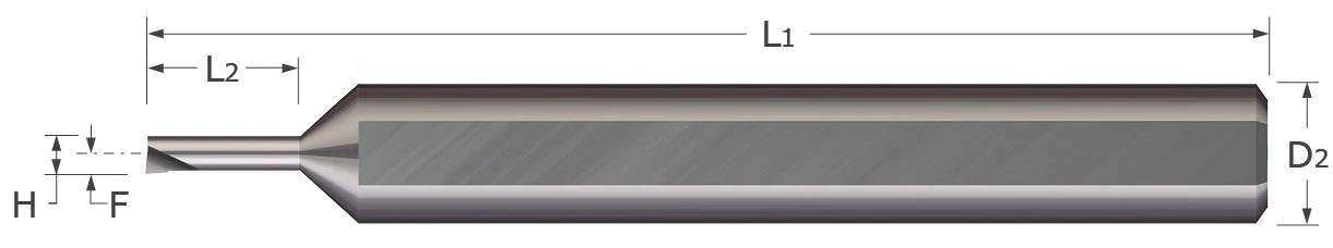 Standard - Boring Tools - Right Hand - Sharp - Miniature
