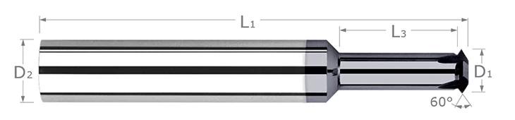Thread Milling Cutters - Single Form - UN Threads