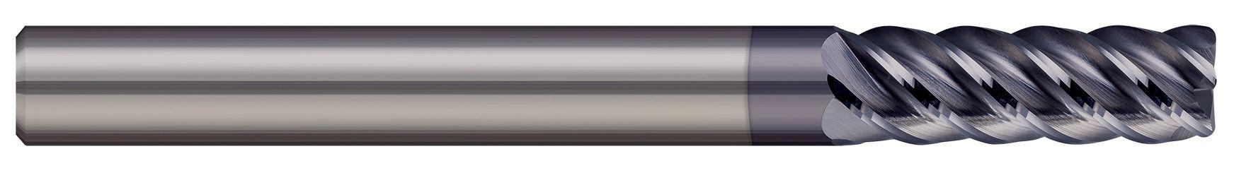 End Mills for Steels & High Temperature Alloys - Corner Radius - 5 Flute