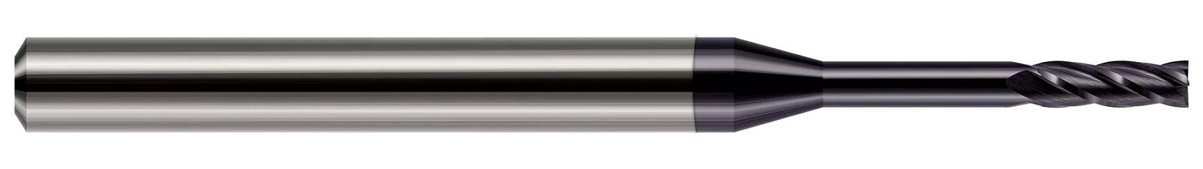 Miniature End Mills - Square - Long Reach, Standard Flute